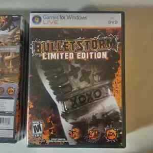 2 x NEW sealed, Bulletstorm Limited Edition for PC