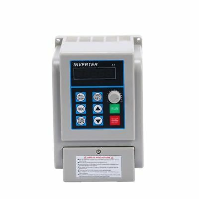 220v 1.5kw Single Phase To 3three Phase Output Frequency Converter Vfd Vsd Usa