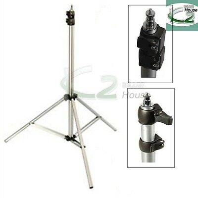 Photography 9Ft Heavy Duty Air Cushioned Studio Light Stand for Video Lighting