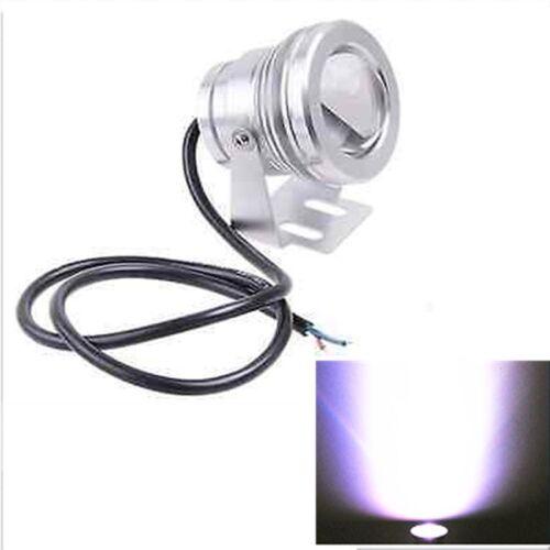 White  LED BOAT LIGHT IP68 Waterproof UNDERWATER FISH