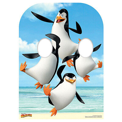 PENGUINS STAND-IN Madagascar CARDBOARD CUTOUT Standup Standee Standin F/S
