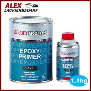 Inter Troton 2K Epoxy Primer Grundierung Epoxidharz 1,1kg + Härter Epoxydharz