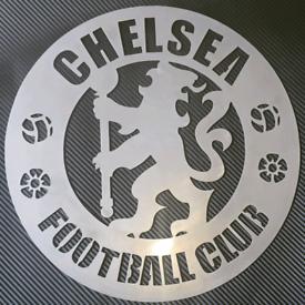 Chelsea FC Metal Football badge or Logo