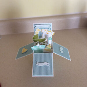 Handmade cards, gift cards with boxes, gift boxes. Peterborough Peterborough Area image 1