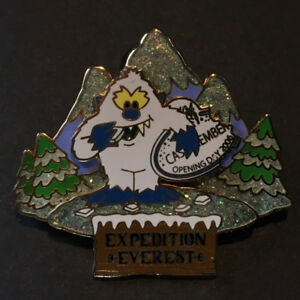 Disney Animal Kingdom Pin Expedition Everest Yeti