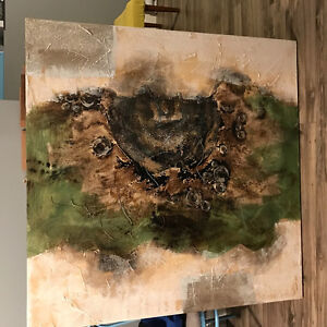 Large Abstract Canvas