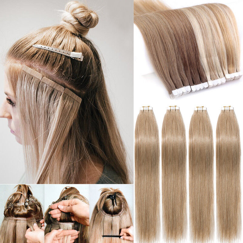 Image result for tape hair extensions