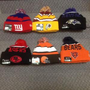 NEW ERA NFL TOQUES ( HATS )
