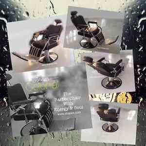 Barber chairs Salon furniture & Equipment, pedicure chairs West Island Greater Montréal image 2