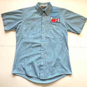 Vintage Pepsi Cola Soda Pop Delivery Drivers Shirt