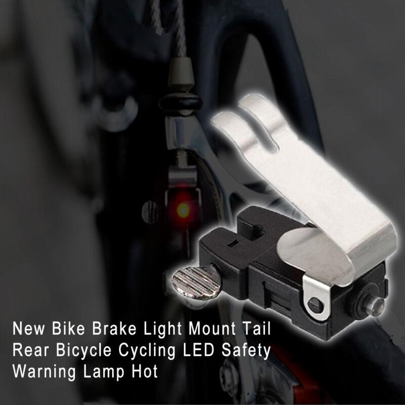 Bike Brake Light Mount Tail Rear Bicycle Cycling LED Safety