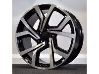 "17"" 5-100 GTi Concept Style Alloy wheels & Tyres Golf MK4, Polo, Audi A1"