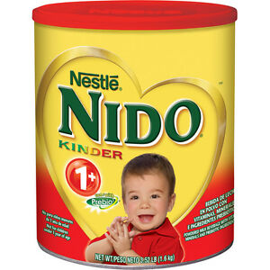 Nestle Nido Kinder 1+ Powdered Milk Beverage 1.6 kg BRAND NEW