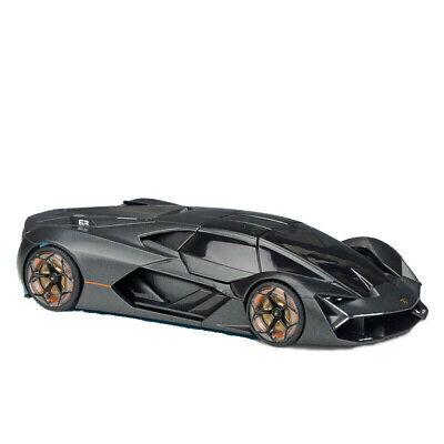 Bburago 1/24 Lamborghini Terzo Millennio Diecast Model Car 18-21094 Satin Gray