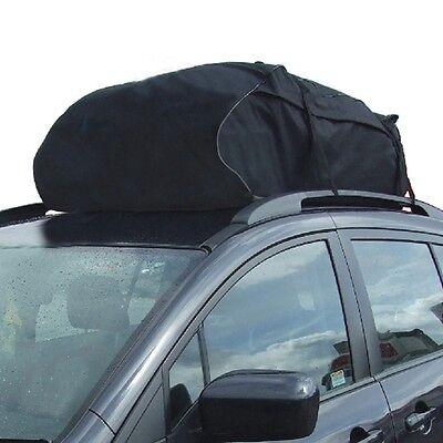 458 LITRE LARGE CAR CARGO TRAVEL RAIN PROOF ROOF TOP BAG STORAGE CARRIER BOX