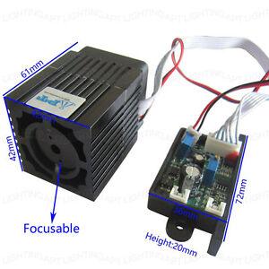 De-alta-calidad-12V-300mW-532nm-modulo-laser-verde-Enfocable-TTL-Trabajo-Continuo