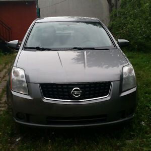 2008 SENTRA , MAN , AC ,POWER DOORS AND WINDOWS ,4 CYL VERY CLE