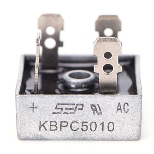50A 1000V Metall Gehaeuse Brueckengleichrichter mit Kuehlkoerper C9D7