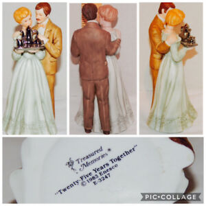 """Figurines """"Angel of the Heart / 25 Years Together"""""""
