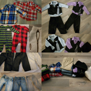 6-12 months and 9 months boys clothing lot