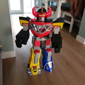 Imaginext CHJ18 Power Rangers Morphin Megazord