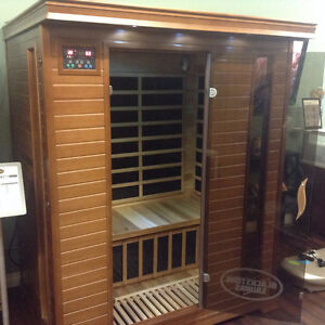 Classic three person sauna far infrared on sale $2799, was $3999 Strathcona County Edmonton Area image 7