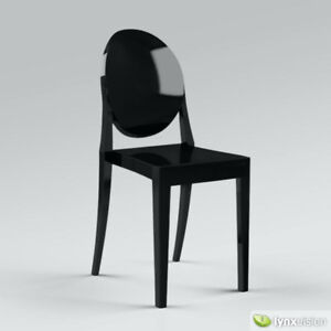 Philippe Starck Ghost Chairs