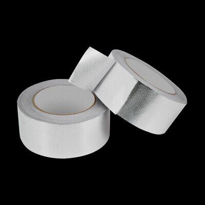 Non Toxic Aluminum Foil Tape Car Exhaust Pipe Foil Adhesive Heat Shield Tape