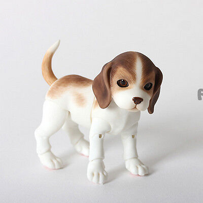 1/8 bjd Doll Lively Puppy Dog Family Practice make-up Toys + eyes