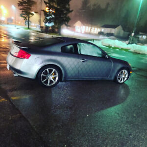 2004 Infiniti G35 Coupe 6MT LOW KMS
