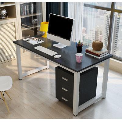 Computertisch Schreibtisch Bürotisch Arbeitstisch Modern PC Tisch Schwarz HH hot