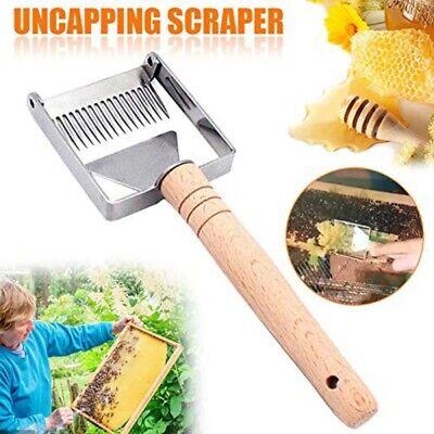 Bee Hive Honey Fork Scraper Uncapping Shovel Stainless Steel Beekeeping Tools Us