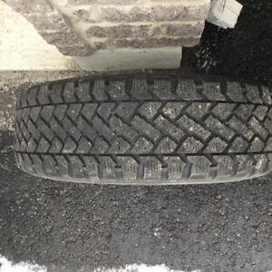 195 65 15 winter tires on rims