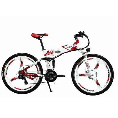 36V 250W Bicicleta Eléctrica Plegable Bicicleta De Montaña RICHBIT TOP-860