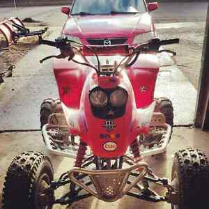 2000 Honda trx 400ex cash or looking to trade for a truck