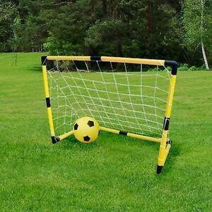 Bambini calcio goalpost palo della porta con rete - Porta calcio gonfiabile ...