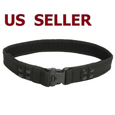 Police Utility Belts (Durable Heavy Duty Security Guard Paramedic Police Utility Nylon Belt)