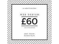 South Lanarkshire web design, development and SEO from £60 - UK website designer & developer
