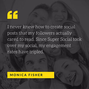 THE BEST SOCIAL MEDIA MANAGEMENT FOR JUST $99/MONTH West Island Greater Montréal image 2
