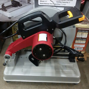 14 in. 3-1/2 HP Heavy Duty Cut-Off Saw