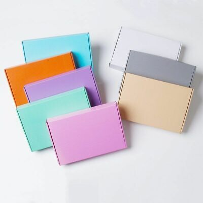E Corrugated Paper Box Aircraft Solid Carton Gift Packing Hard Package 10pcslot