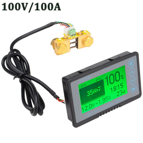 TF03K DC100V 100A Lithium Battery Capacity Tester Voltage Current Display
