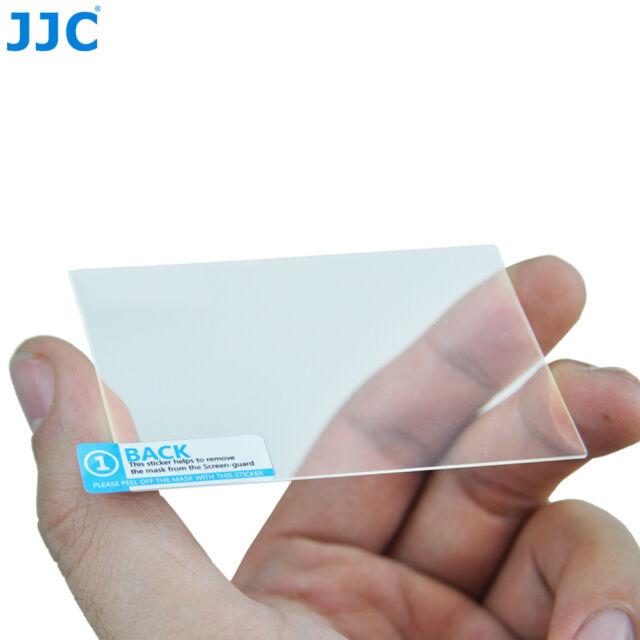 JJC 9H HD Optical Tempered Glass LCD Screen Protector for Panasonic GM, GX7, G6
