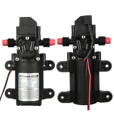 12v Dc 130psi 70w Marine Water Pump High Pressure Boats Rvs Lawn Sprayers