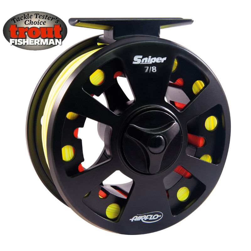 Airflo new sniper fly fishing reel ebay for Fly fishing reels ebay
