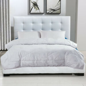 100% NEW Black/White Queen Bed Frame and Queen Mattress Combo