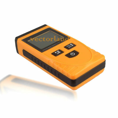 Electromagnetic Radiation Detector Digital Lcd Emf Meter Dosimeter Tester New