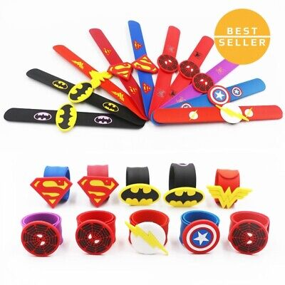 Cheap Silicone Wristbands (Silicone Superhero Spiderman Slap Bracelet Flash Wristband Bracelet For)