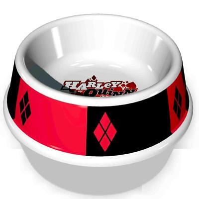 Buckle Down HARLEY QUINN Dog Bowl Pet Food or Water Melamine Dish