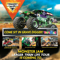 Monster Jam Larger Than Life Tour